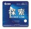 ITTF Approved SANWEI Rings Link pimples-in table tennis rubber / ping pong rubber