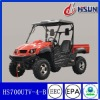 2012 new red eec utility terrain vehicle 700cc utv (HS 700UTV -B)