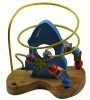 Wooden toys Outer space wooden beads
