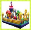2012 Hot Outdoor/Indoor Playground Inflatable Castle Big Figures Baby World for sale