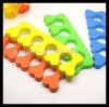 Manufacturer for EVA toe separators,nail polish toe separators