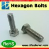 DIN933 Hexagon head bolts(hex bolts)