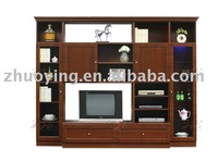 Wooden TV stand antique design living room furniture E01#