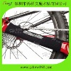 Neoprene bicycle chainstay wrap