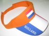 cotton Sun visor with printing Netherlands