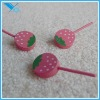 Fashion Slipper Accessories - Strawberry Lollipop