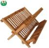 Water resistant bamboo dish rack