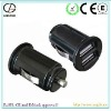 ac to dc dual usb car charger for music player