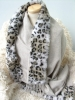 100% wool scarf with good design