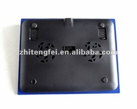top sale new blue led light stand cooling pad