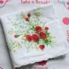modern ladies plain white cotton handkerchief