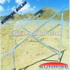 Ground solar mounting brackets