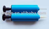 small blue soccer ball pump(EN71 Approved)