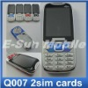2012 New! Q007 Mobile Phone Dual Sim with Big Speaker