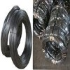 black iron wire with big coil