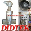 DIDTEK Cast Steel BB Gate Valve
