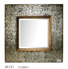 2012 new style hand painted home decor framed mirror