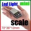 200g 300g 500g 100G 0.01G LCD back Light Mini Balance Weight Scale