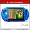 4.3 inch mp5 game player. 2012 new model,support new games