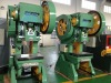 Open tilting type press machine
