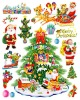 Colorful Self-adhesive Sticker,christmas tree