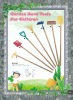 children garden tool set with wooden handle