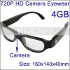 New Style Fashion Sunglaas with Camera HD720p (Can change black colors LENS)