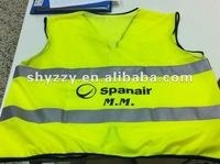 100% polyester safety vest reflective