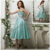 Short Tea Lenth Prom Dress 2012 With Beaded Corset YBPD-0027