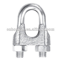 Galvanized Wire rope Clip Rigging Fittings