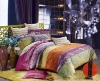 colorful home textile bed set
