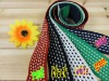 Colorful Dot Jacquard Elastic Webbing For Garment Accessories