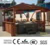(Garden gazebo) Wooden Gazebo SR885 for protect jacuzzi