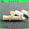 CN5065 white nylon wall plug with screw