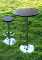 Mahogany Bar Table & Stool