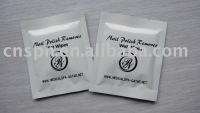 multi-purpose Nail polish remover wet wipes