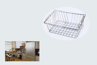 Metal Frame Kitchen Basket,Kitchen Wire Basket,Metal Net Basket