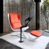 DEMNI Orange comfy massage sound chair with arm