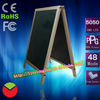 led writing board luxurious wooden frames