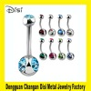 CBRL Fashion Surgical Steel Jewelry,Body Piercing Display Jewelry,Navel Nail Jewelry