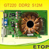 GT220 PCI-E Graphics Card