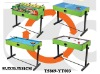 4 in 1 Billiard & Ping-Pong Table Game