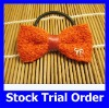 Trendy Girl Orange Color Elastic Hair Band with Girl Hair Accessries