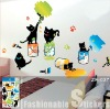 Naughty Cats Vinyl Art Wall Sticker Decal Decor