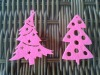 holiday's decorations of Christmas tree in non-woven material