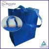 Ultrasonic nonwoven shopping promotional bag
