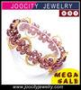 Wholesale bracelets 2012 crystal bracelet Pretty Crystal Woven Bracelet JCA-CB018