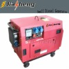 4-stroke Air-cooled electric start 5kw portable generator for home use silent