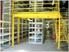 Multi-level Steel Mezzanine Storage Rack