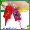 29ml anti-bacterial hand sanitizer with plastic holder